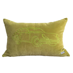 Porsche Pillow Olive