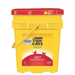 Purina Tidy Cats Clumping 24/7 Performance Multi Cat Litter, 20 lbs.