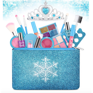 Kids Play Makeup Starter Kit Cosmetic Beauty Set Frozen Makeup Set
