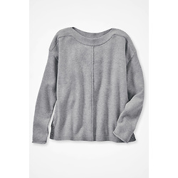 Side Button Pullover Sweater