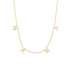 The NANA Letter Necklace
