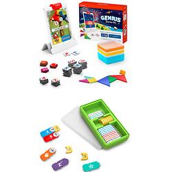 Osmo Genius Starter Kit For iPad + Coding Family Bundle