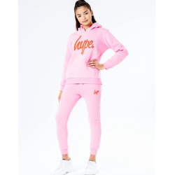 HYPE PINK KIDS TRACKSUIT