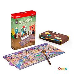 Osmo Genius Starter Kit for iPad (New Version) + Detective Agency