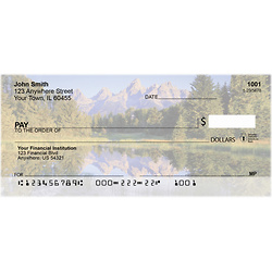 高山湖泊个人支票