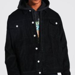 Oversized Cord Jacket