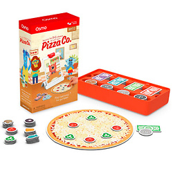 Osmo Genius Starter Kit for iPad (New Version) + Pizza Co. Game Bundle
