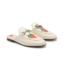 草莓穆勒鞋