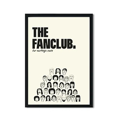 The Fanclub Charity Retro Giclée Art Print