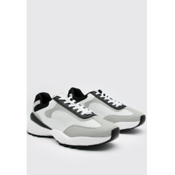 Hiker Sole Panelled Trainer
