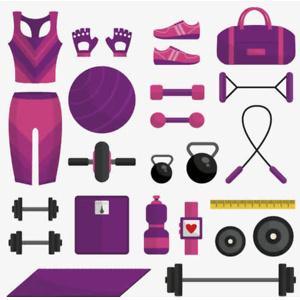 去健身房必带的十件装备!