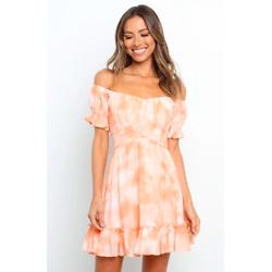PAZIA橙色连衣裙