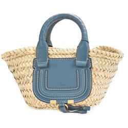 CHLOÉ Marcie small basket handbag Aikiko dress