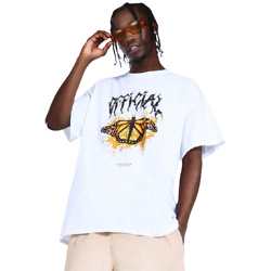 OVERSIZED OFFICIAL BUTTERFLY GRAPHIC T-SHIRT