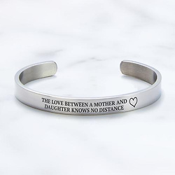 Mother's Day Gift - Mother And Daughter Love Knows No Distance Bracelet