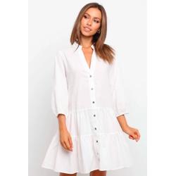 TAFFU白色连衣裙