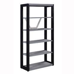 District 5-Shelf Bookcase - 72