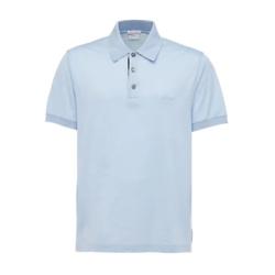 Brioni Logo Embroidery Cotton Polo