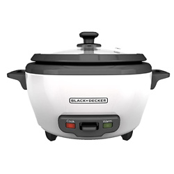 BLACK+DECKER RC506 6-Cup Cooked/3-Cup Uncooked Rice Cooker