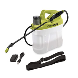 Sun Joe SJ-APS-2G 4-Volt Rechargeable Cordless All Purpose Chemical Sprayer, 2-Gallon