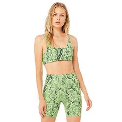 柠檬绿蛇皮内衣
