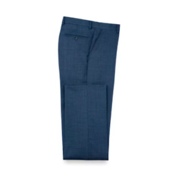 Sharkskin Flat Front Pants