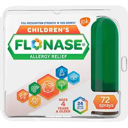 Flonase 过敏症状缓解喷鼻剂,儿童款, 720次