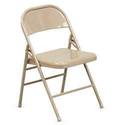 Treble Steel Folding Chair