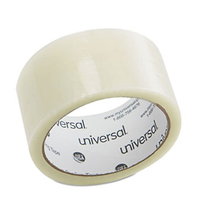 """Universal General-Purpose Box Sealing Tapes, Approx 2""""""""w x 55 yds"""