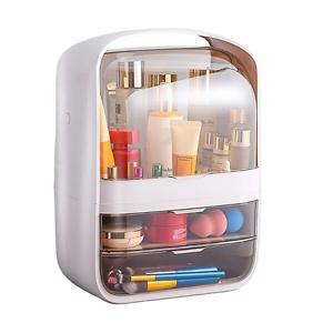 Portable Multifunctional Fully Open Makeup Organizer