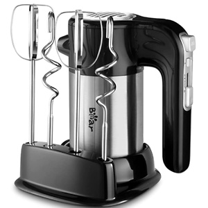 Bear Hand Mixer Electric, 300W Power Handheld Mixer with Turbo Boost