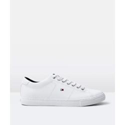 TOMMY JEANS 男士皮革运动鞋