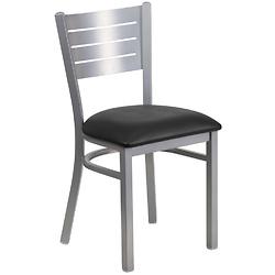 HERCULES 系列银色板条靠椅