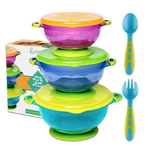 Best Suction Baby Bowls for Toddlers-Toddler Bowls Baby Feeding Set