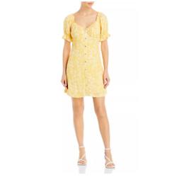 Lost and Wander Daisy Field Mini Dress