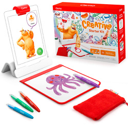 Osmo - Creative Starter Kit for iPad - 3 Educational Learning Games