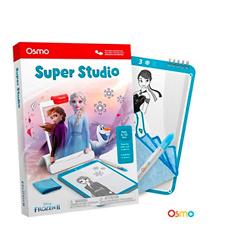 Osmo - Super Studio Disney Frozen 2 Game + Osmo Fire Tablet Base Bundle