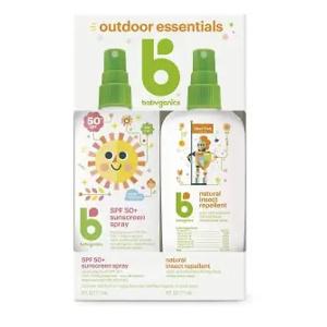 Babyganics 儿童夏季必备防晒霜及驱蚊喷雾等促销 低至$4.99