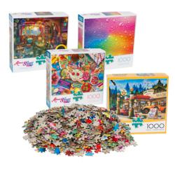 1000 Piece Cartoon World Puzzle - Assorted