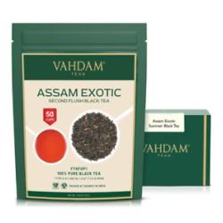 Assam Exotic Second Flush 红茶叶 (3.53盎司)