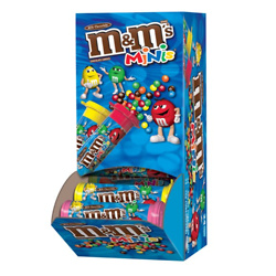 M&M'S MILK CHOCOLATE MINIS CANDY (PACK OF 24)
