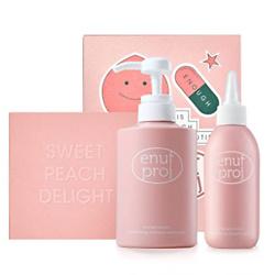 桃子洗发水套盒