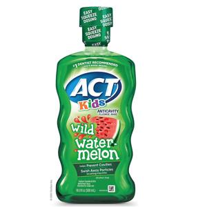 ACT Kids Anticavity Fluoride Rinse Wild Watermelon