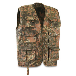 Mil-Tec Military Style Tactical Shooting Vest