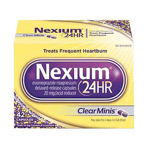 Nexium 24HR (42 Count, ClearMinis) All-Day