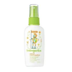 Babyganics DEET Free Travel Size Bug Spray, 2oz