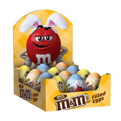 M&M'S MILK CHOCOLATE CANDY EASTER EGGS (12-COUNT)