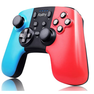 Ralthy Wireless Pro Controller for Switch, Extra Controller Gamepad Joystick for Switch Controllers