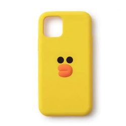 LINE FRIENDS Sally Character Slim Cell Phone Case Silicone Cover Compatible with iPhone 11