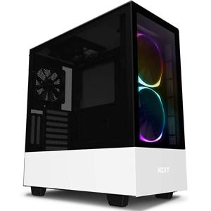 NZXT H510 Elite - CA-H510E-W1 - Premium Mid-Tower ATX Case PC Gaming Case
